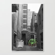 Unseen Monsters of Melbourne - Thorn Canvas Print