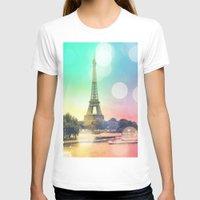 paris T-shirts featuring Paris. by WhimsyRomance&Fun