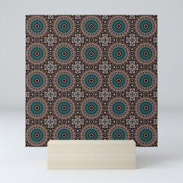 Oriental ornament Mini Art Print