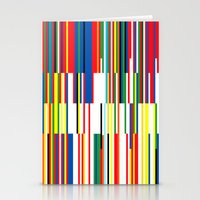 the national Stationery Cards featuring National Colors by Tom Davie
