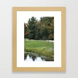Farming Beauty! Framed Art Print