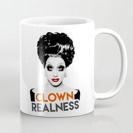 """Clown Realness"" Bianca Del Rio, RuPaul's Drag Race Queen Coffee Mug"