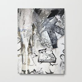 Skate or Pie! Metal Print