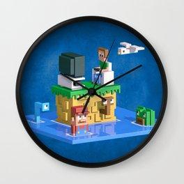 Retromania Wall Clock