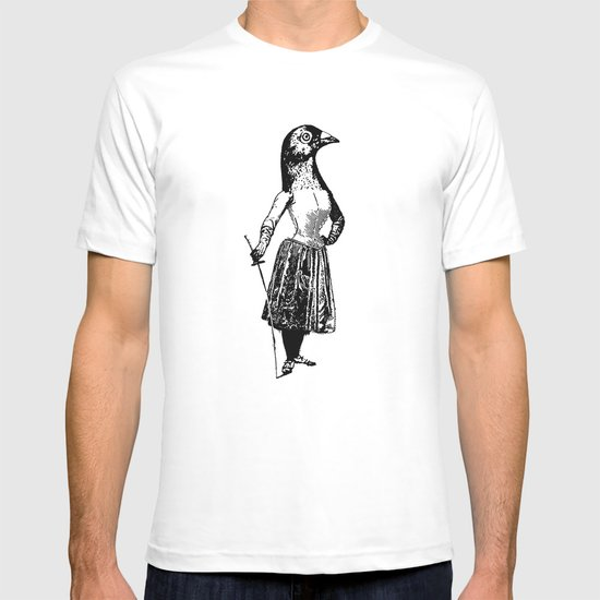 The Fencing Pigeon T-shirt