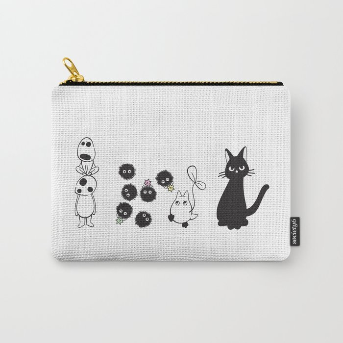 MIYAZAKI FRIENDS Carry-All Pouch