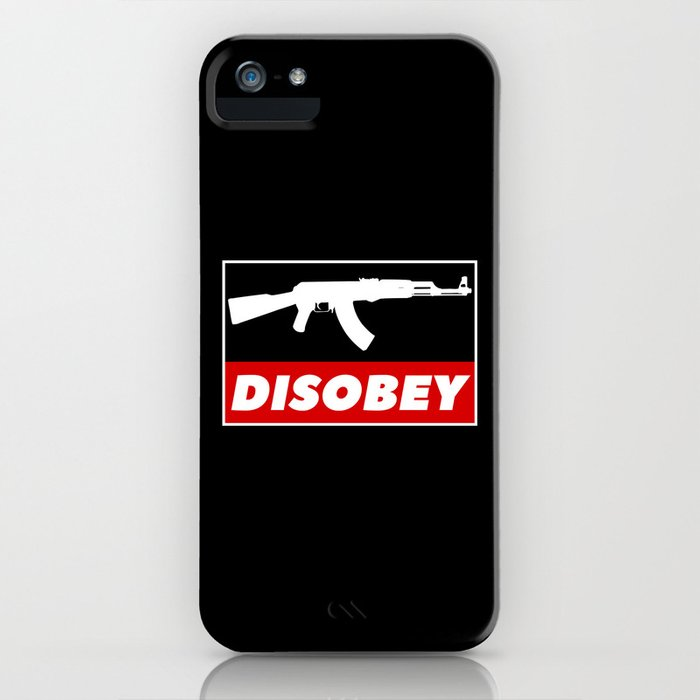DISOBEY iPhone Case