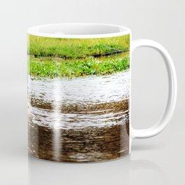 Canada Goose and Goslings II Coffee Mug