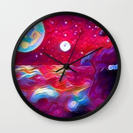 Where worlds Collide 1 Wall Clock