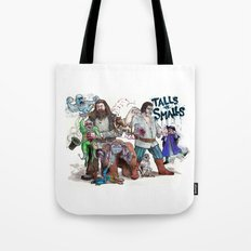 TALLS VS. SMALLS Tote Bag