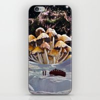 psychadelic iPhone & iPod Skins featuring Alice in Wonderland by Blaz Rojs