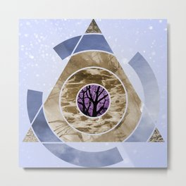 In With Nature Metal Print