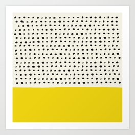 Sunshine x Dots Art Print