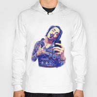 nick cave Hoodies featuring Nick by Mickt Flior