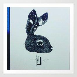 Dirty Paws Art Print