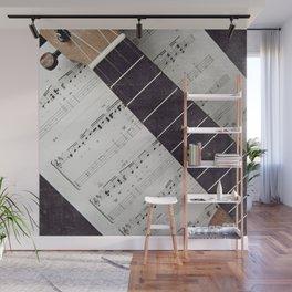 happy strings {ukulele Wall Mural