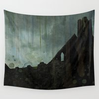 celtic Wall Tapestries featuring Celtic ruin  by IvanaW