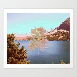 Cannabis Landscape Art Print