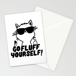 Go Fluff Yourself Stationery Cards