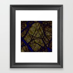 verity emigrates into notions Framed Art Print