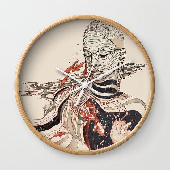 TRAWLING Wall Clock