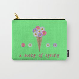 A scoop of spring Carry-All Pouch