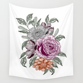 Overgrown 3 Wall Tapestry