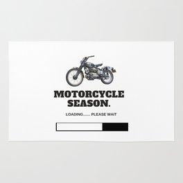 Motorcycle Season Loading Rug