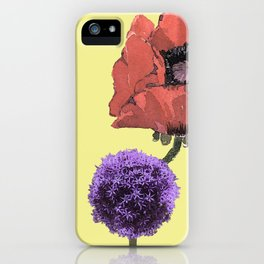 Floral fantasies iPhone Case