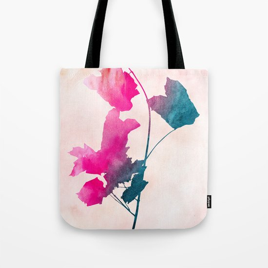 Maple_Watercolor 1 by Jacqueline & Garima Tote Bag