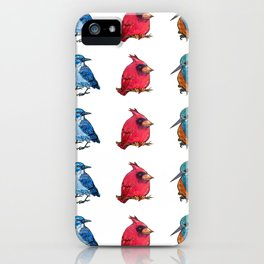 L'il Lard Butts - all the fat birds iPhone Case