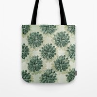 succulents Tote Bags featuring Succulents by Sandra Arduini