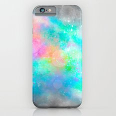 The Soul Becomes Dyed With the Colors of it's Thoughts (Galactic Watercolors) iPhone 6 Slim Case