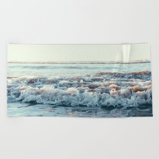 Pacific Ocean Beach Towel