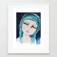 jane davenport Framed Art Prints featuring Dreamer by Jane Davenport by Jane Davenport