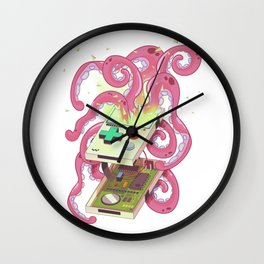Games Console Monster Wall Clock