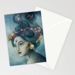Zodiac Pisces Stationery Cards