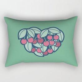 Heart of a Cherry Picker Rectangular Pillow