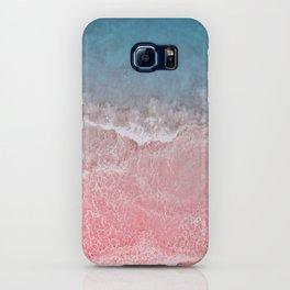 Bahamas pink blue iPhone Case