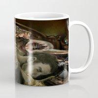 helen Mugs featuring Helen Vaughan by Sandpaperdaisy