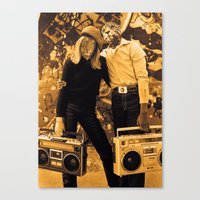 hiphop Canvas Prints featuring Hiphop ... by SLip