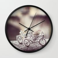 florence Wall Clocks featuring Florence by farsidian