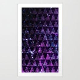 In Space Between Art Print