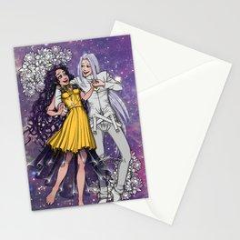 Sailor Moon - Human Luna and Artemis  Stationery Cards