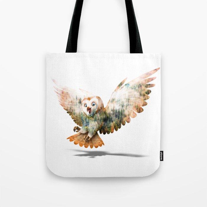 OWL NATURE Tote Bag