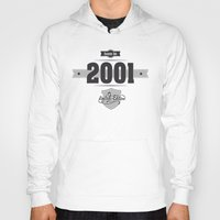 2001 Hoodies featuring Born in 2001 by ipiapacs