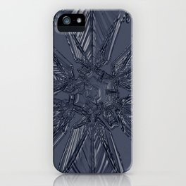 Snow Marries Stone iPhone Case