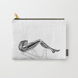 Pipe White Carry-All Pouch