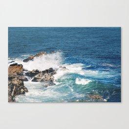 Maine Waves Canvas Print