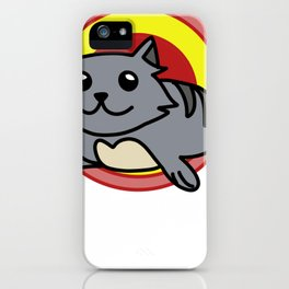 kitten five iPhone Case